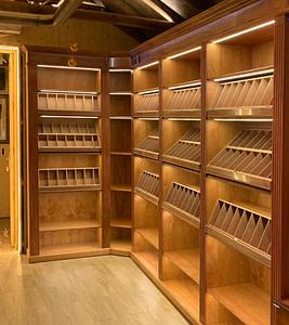 Las cavas para puros permiten conservar los cigarros