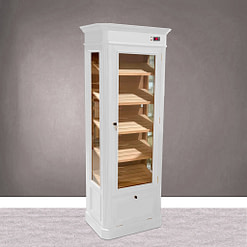 Humidor Paris lacado blanco