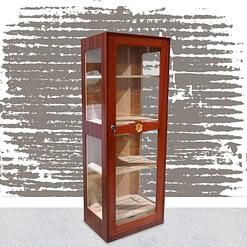 Humidor Glass Imperial mahogany varnish