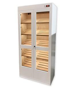 Cigar humidor display cabinets