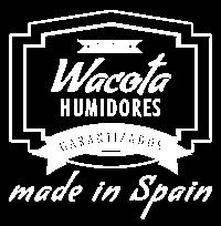 Logo Wacota en blano